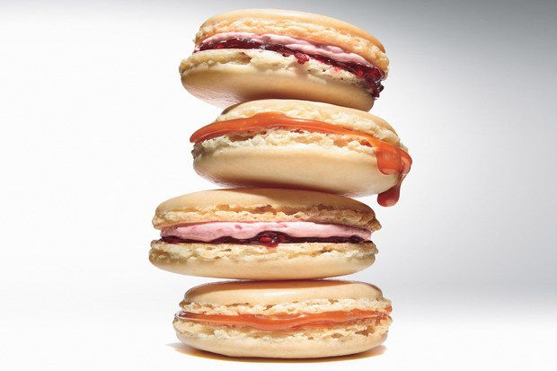 French Macaroons with Raspberry-Rose Buttercream | Recipe | Macaroons ...