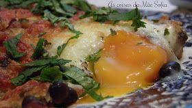 Ovos mexicanos no forno
