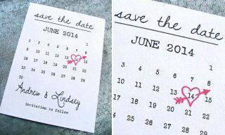 Save the date modelo pré-convite de casamento
