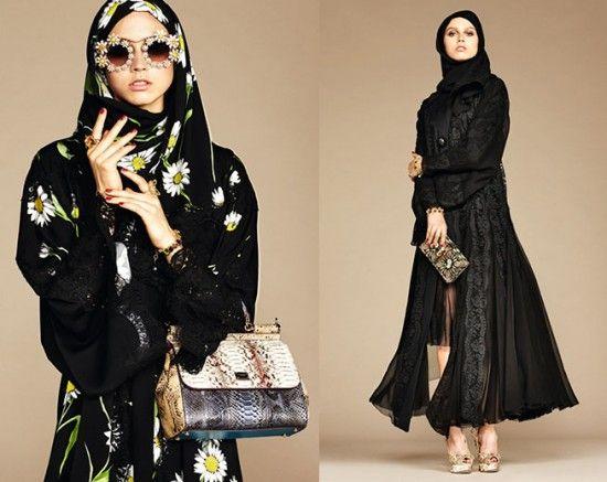 A Dolce & Gabbana lançou uma coleção pras mulheres árabes - vem ver mais aqui!