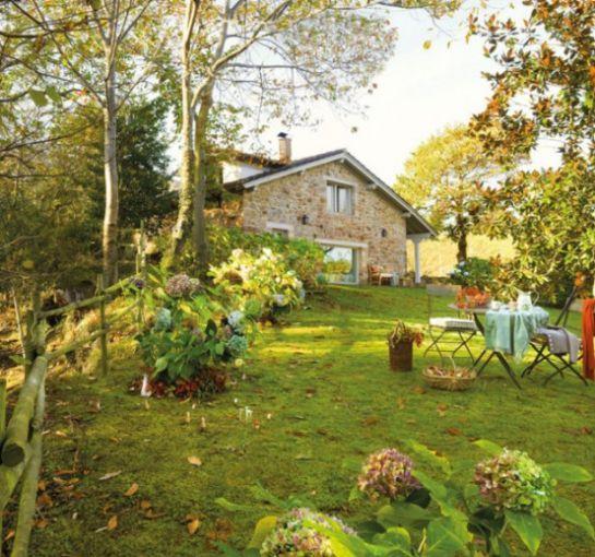 Il fascino di un casa rustica in mattoni - Idee Pratiche