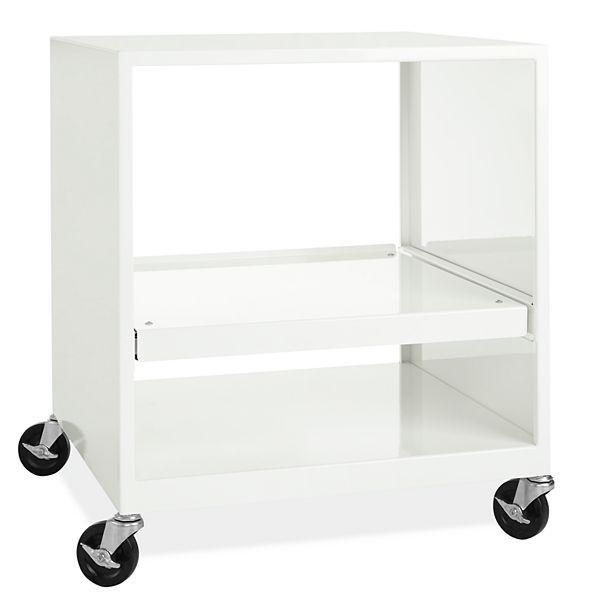 Miko Modern Printer Cart - Modern File Storage - Modern Office Furniture - Room