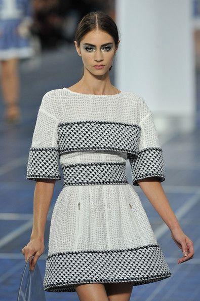Chanel: Runway - Paris Fashion Week Womenswear Spring / Summer 2013