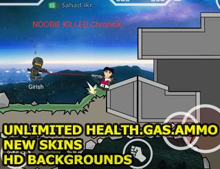 Mini Militia Unlimited Health Mod For NON ROOTED USERS [UPDATED]   Hi today im going to share a mini militia mod  its unlimited health and unlimited ammo and unlimited nitro scroll down to download mini militia unlimited health mod  MOD INFORMATIONS:  -Mini militiaUnlimited Health  -Unlimited Flying Power  -Unlimited Ammo(You will get unlimited ammo when you kill a player with same gun)  -Pro Pack Unlocked  -Suicide Option Added ( You can kill yourself just go to outside of map )  -HD and…