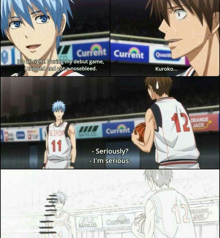 Haha! Poor Kuroko!