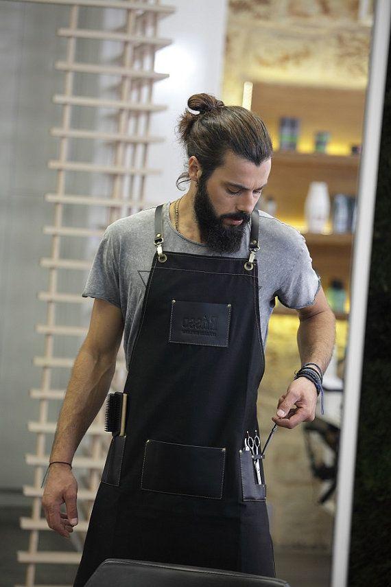 Julian barber apron by RassoWorkwear on Etsy