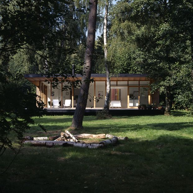 Spaces For Easy Breathing Modern Forest Cabin Zealand Island