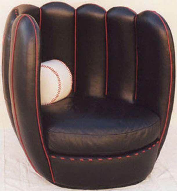 Baseball Glove Chair Jan Good Idea For Gil Softball