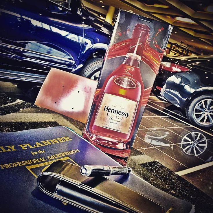 Sometimes I forget how rewarding this career is!  It's nice when customers genuinely take care of you.  Thank you for my favorite bottle of @hennessy I know what I'm doing tonight  #hennygang #hennessy #lexus #montblanc #winning