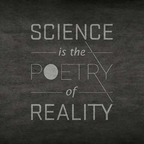 Awesome Science Quote | Science is the Poetry of Reality | From Amy Gabriel #STEM #inspirations