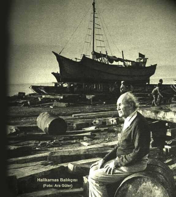 ''sea was a blue flame'' - ''deniz, mavi mavi yanıyordu'' Halikarnas Balıkçısı F: Ara Güler #istanbul #istanlook