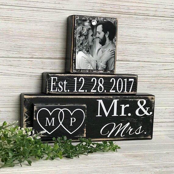Mr Et Mme Cadeau De Mariage Mariage Cadeau Mariage