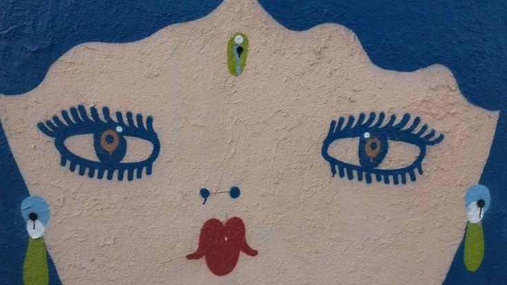 "Max on Twitter: ""Una ammaliante e esot(er)ica #FilleBertha in blu / @LaFilleBertha #streetart #Cagliari https://t.co/nwaEmYz9tr"""
