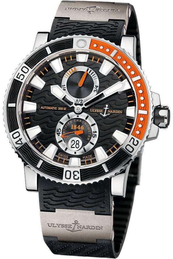 Ulysse Nardin Maxi #Marine #Diver Titanium @ulysse_nardin