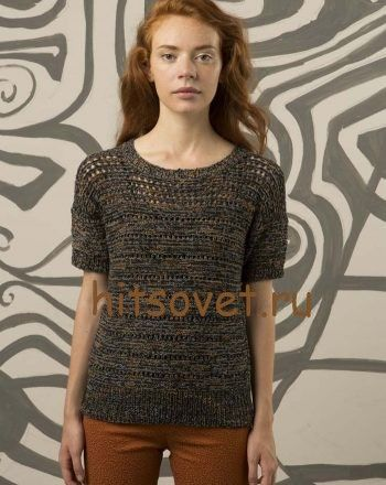 Вязание модного пуловера http://hitsovet.ru/vyazanie-modnogo-pulovera/