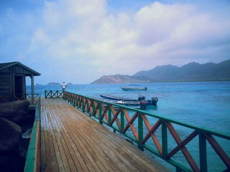 I'm in heaven. Cayo Cangrejo, Isla de providencia, Colombia