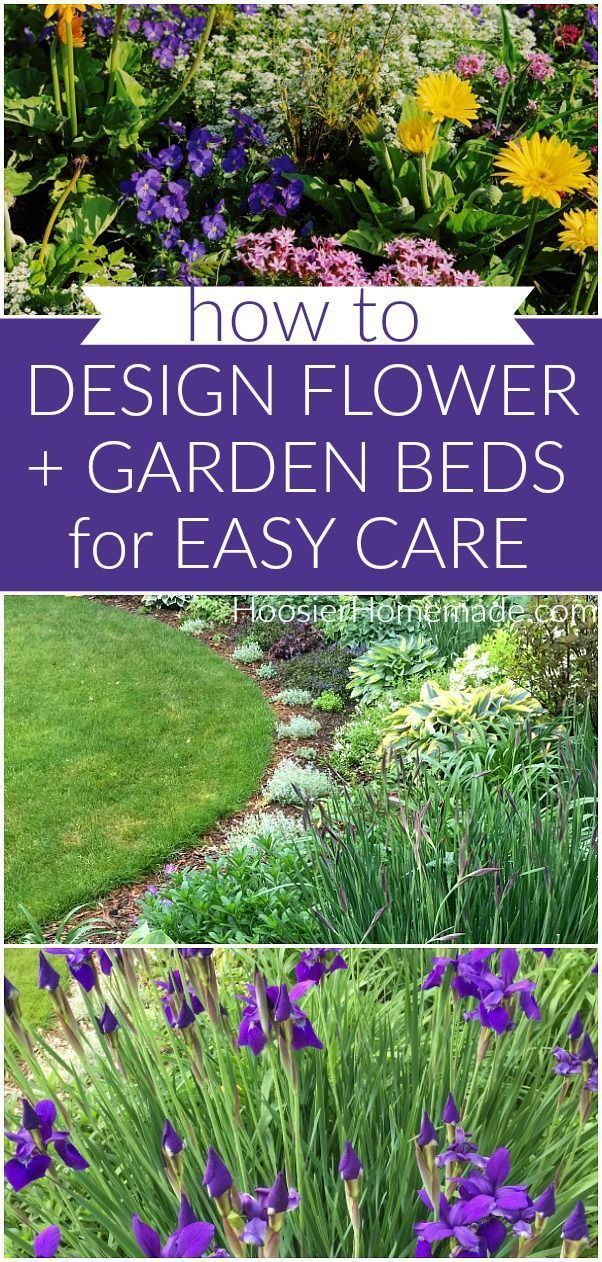 Designing Flower And Gardens Beds For