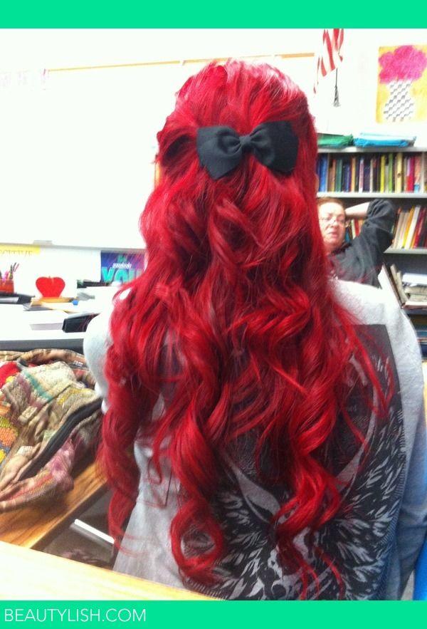 Red Curls | Jasmina I.'s (JasminaIsabel) Photo | Beautylish