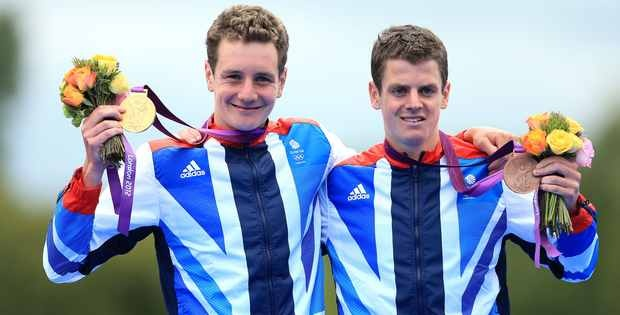 Olympics London 2012. The Brownlee brothers, gold and bronze. Triathlon: one of the toughest Olympic sports.