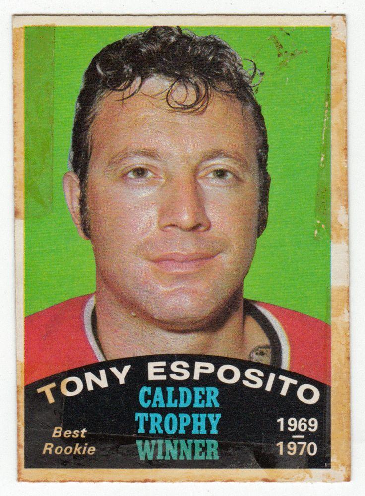 Tony Esposito Calder Trophy # 247 - 1970-71 O-Pee-Chee Hockey