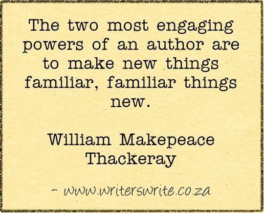Quotable - William Makepeace Thackeray - Writers Write