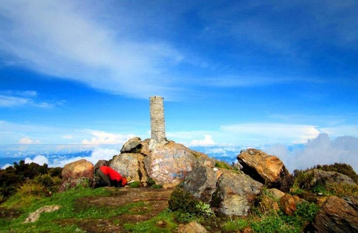 Mount Latimojong's Peak