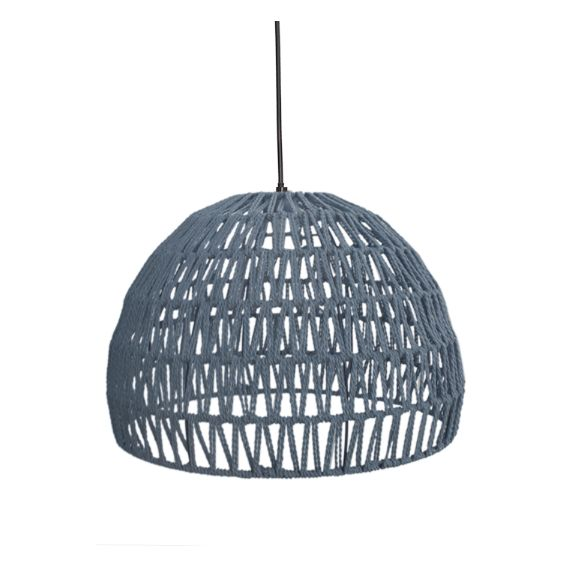 Label 51 - Hanglamp Touw Lichtgrijs