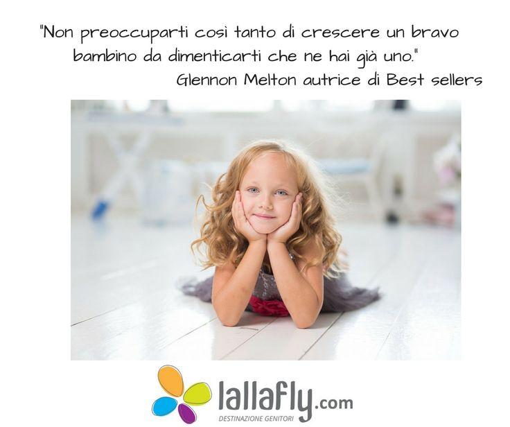 Un buon #genitore si preoccupa più del presente dei propri #figli che del futuro