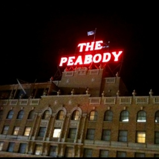 Memphis TN famous Peabody Hotel - You have to see the ducks walk and visit their rooftop castle.