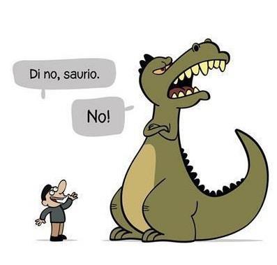 Di no!