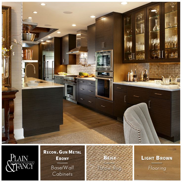 Gun Metal Ebony And Stainless Steel Appliances Are The