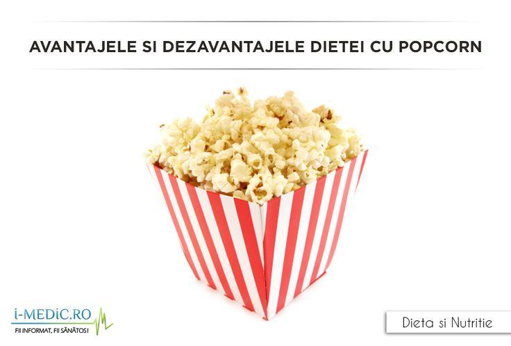 Premisa acestei diete este ca daca vom consuma popcorn in cantitati mari, vom reusi sa dam jos kilogramele in plus. Expertii nu sunt insa de acord cu aceasta premisa. Expertii considera ca urmand dieta cu popcorn nu vom reusi sa pierdem din greutate sau cel putin nu vom reusi sa mentinem pierderea in greutate pe termen lung. http://www.i-medic.ro/diete/avantajele-si-dezavantajele-dietei-cu-popcorn