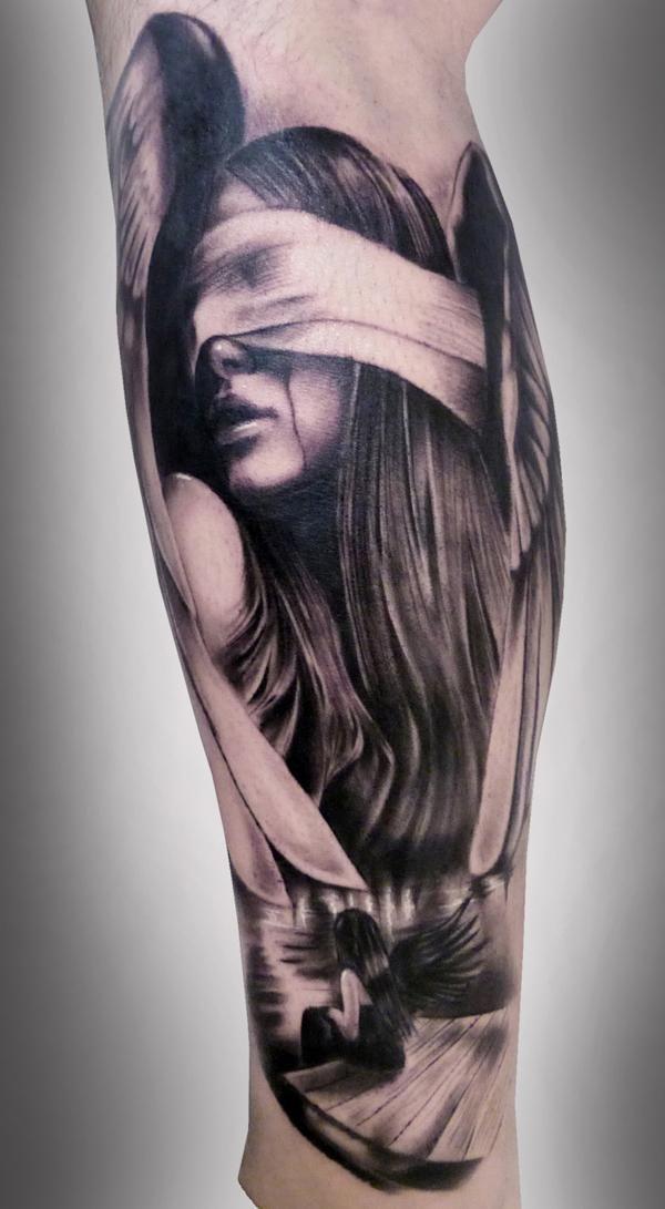Tatuajes de ángeles y diseños de regalo | Belagoria | la web de los tatuajes