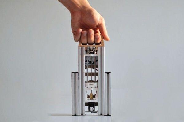 Lumifold - Une imprimantes 3D petite, pliable et pas cher