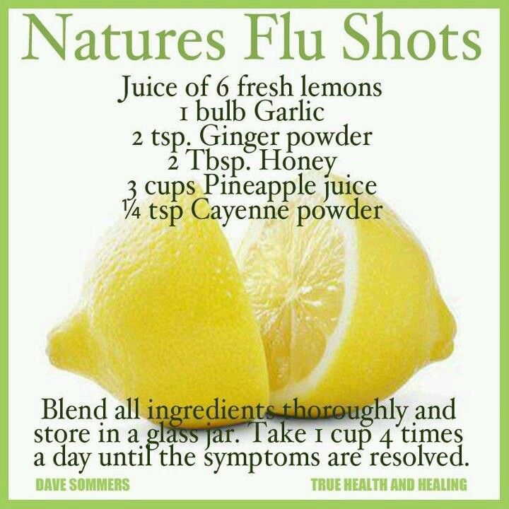 Nature's cure for flu