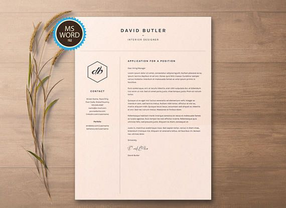 The 25+ best Simple cv ideas on Pinterest Simple cv template - one page resume template word