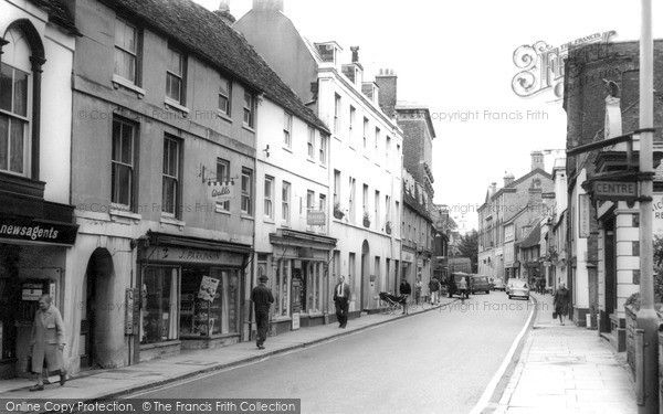 Huntingdon, High Street c.1965, from Francis Frith