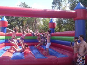Inflatable Water Slide Hire Sunshine Coast