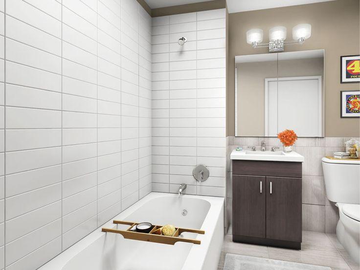 Stacked Tile Floor Laundry Room Inspiration Pinterest
