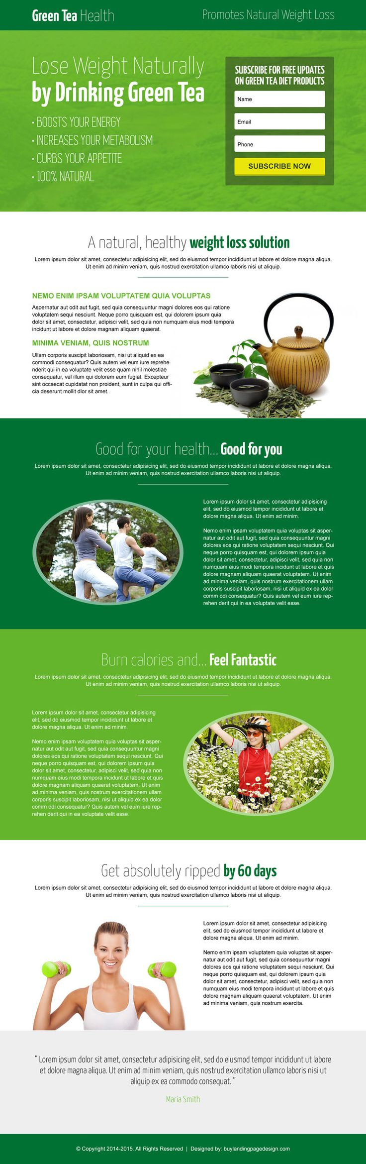 Green tree natural weight loss product selling lead capture landing page design templates from https://www.buylandingpagedesign.com/buy/green-tea-natural-weight-loss-responsive-landing-page-design/1376