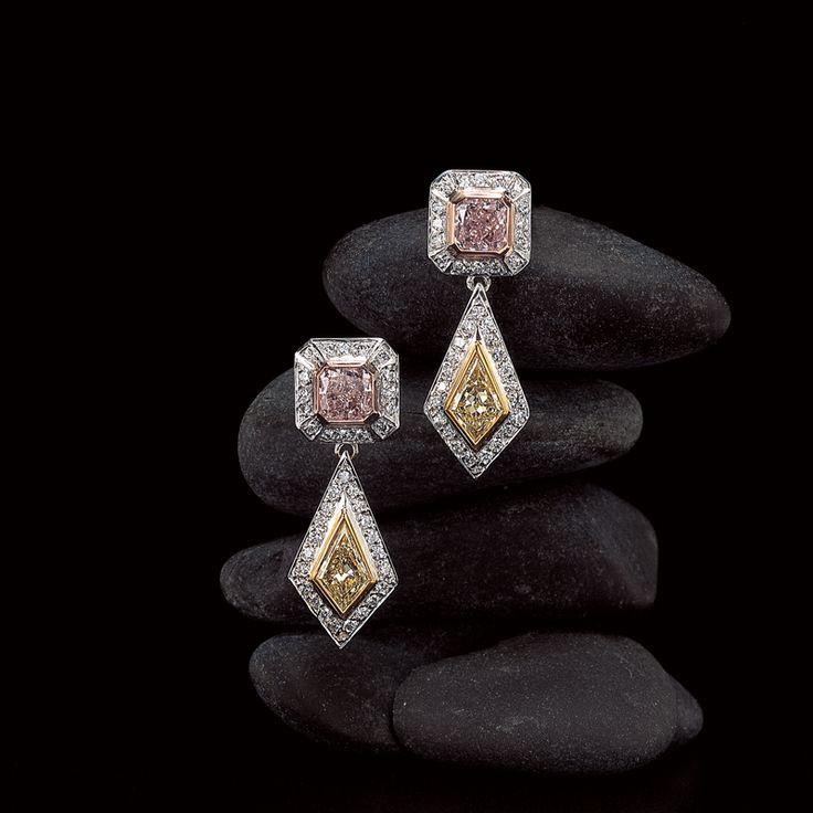 Jeffrey Daniels Diamond Earrings