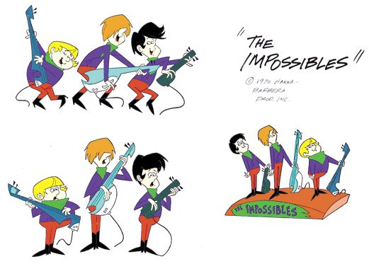 Saturday Morning Cartoon Super-Heroes - The Impossibles