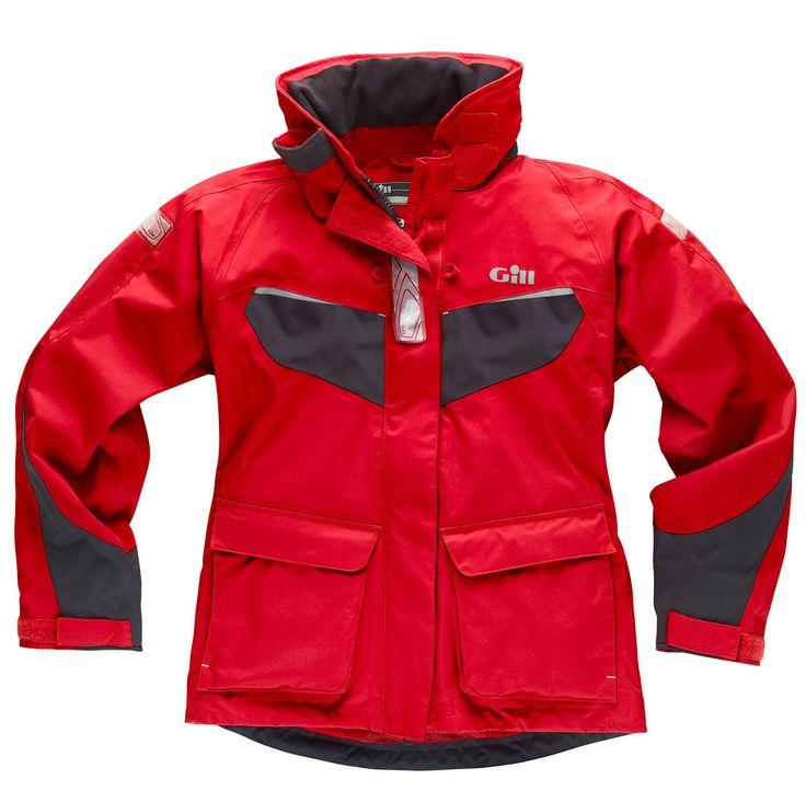 Gill - IN12 Women's Coast Jacket - Red