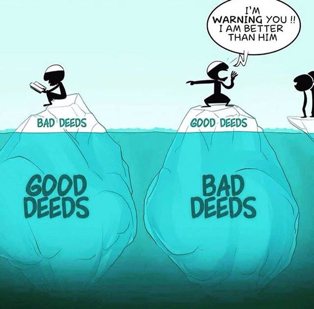 Deeds... Allah knows best