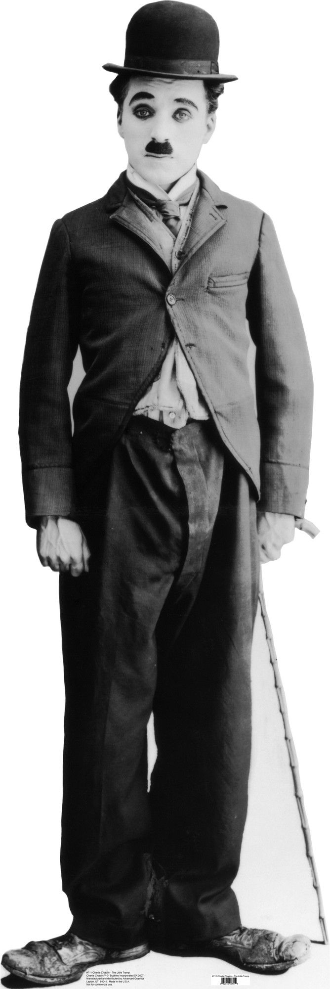 Hollywood Charlie Chaplin Cardboard Stand-Up