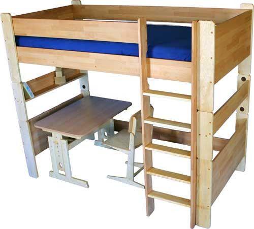 Детская деревянная кровать чердак Турм КИНД КМ 108, цена 126576 грн., купить в Киеве — Prom.ua (ID#120116278)