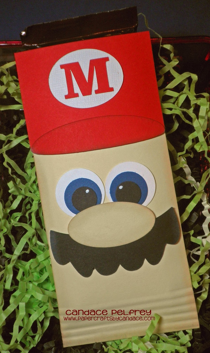 Paper Crafts by Candace: National Video Game Day!