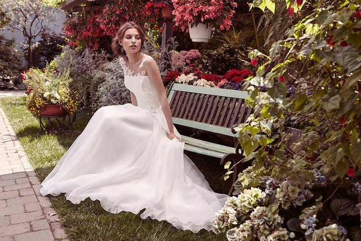 abiti da sposa 2017 claraluna 52371 | Sposalicious