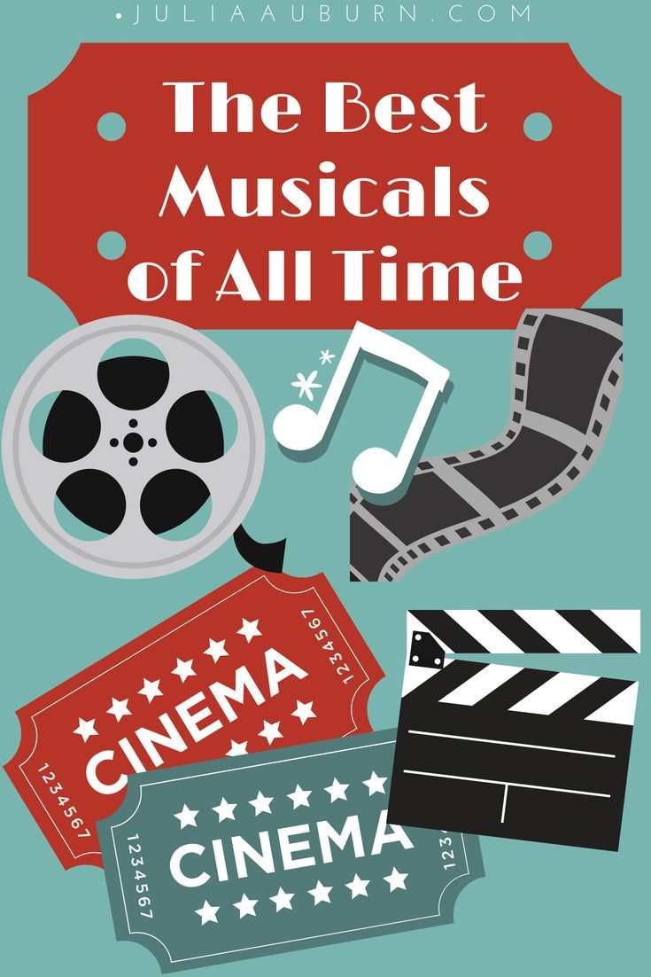 The Best Movie Musicals Of All Time Julia Auburn My Favorite Musicals Musicals Musical Movies All About Time