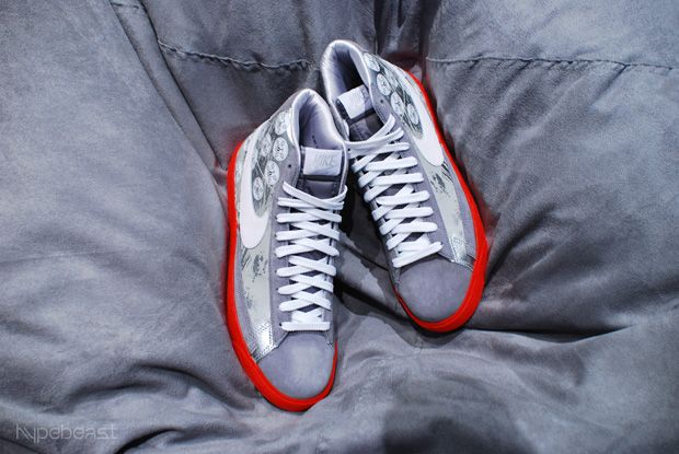 not a big ohio state fan but these nike blazers with helmet